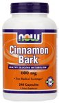 NOW Foods Cassia Cinnamon Bark 600mg, 240 Capsules