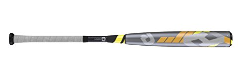 "887768357771 - Wilson DeMarini CF8 League Baseball Bat, 31""/26 oz, Gunmetal/Yellow/Orange carousel main 0"