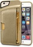 "iPhone 6/6s Wallet Case - Q Card Case for iPhone 6/6s (4.7"") by CM4 - Ultra Slim Protective Phone Cover (Champagne Gold)"