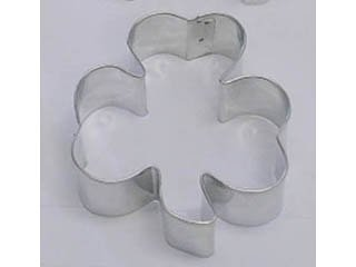 """Shamrock Three 3 Leaf Clover Metal Cookie Cutter for St. Patrick's Day Irish Party Favors 2.75"""""""