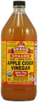 Bragg Apple Cider Vinegar Organic Raw -- 32 fl oz (074305001321)