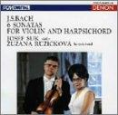 バッハ:ヴァイオリンとハープシコードのためのソナタ