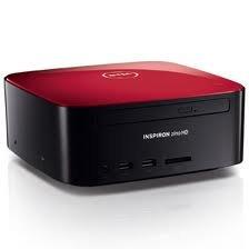Dell - Inspiron Zino Hd Red Desktop - Amd Athlon 2650E 1.6Ghz Processor, 4Gb Ram, Dvd Burner, 640Gb Hdd, Wireless Lan, Windows 7 Home Premium