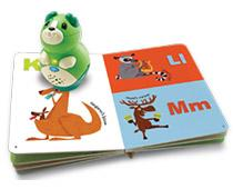 Practice letter names, explore how books work and play fun activities in each book (sold separately)