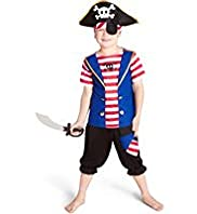 Striped Pirate Outfit