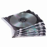 Americopy 100 SLIM Black CD Jewel Cases