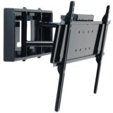 Peerless Pull-Out Swivel Mount For 32-Inch- 65-Inch Flat Panel Screens (Black) Non-Security