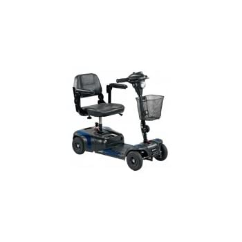 This 4 Wheel Compact Phoenix Scooter by Drive Medical provides users with, indoor and outdoor, independent mobility. This Scooter's convenient and compact design has the ability to assemble and disassemble into 4, easy to store and transport pieces, ...