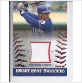 2002 Sweet Spot GAME USED JERSEY Juan Gonzalez Texas Rangers at Amazon.com