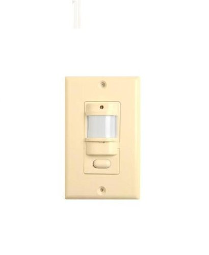 Hubbell Building Automation Iwszp3Pi Passive Infrared Occupancy Sensor, Auto-On, Auto-Off With Manual Override, Ivory