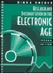 Research and Documentation in the Electronic Age (0312191936) by Hacker, Diana