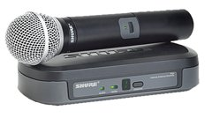 Shure Pg24/Pg58 Wireless Vocal System