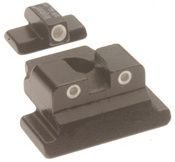 Trijicon 3 Dot Front and Rear Night Sight Set for Firestar 9mm from Trijicon