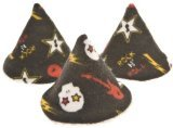 Beba Bean Pee-pee Teepee Skulls - Black - Cellophane Bag