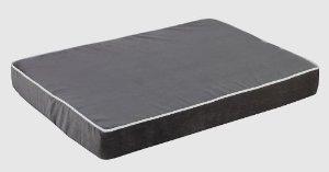 Bowsers Orthopedic Isotonic Memory Foam Mattress Dog Bed, River Rock, LRG 24