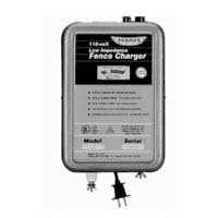 Parmak Super Energizer 4 Low Impedance 110/120 Volt 50 Mile Range Electric Fence Controller SE4