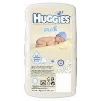 Huggies Pure Baby Wipes-16pack
