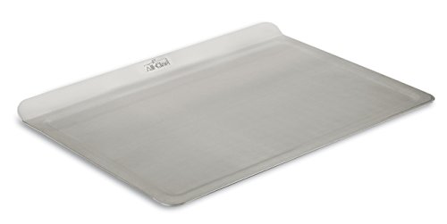 All-Clad 9000TS 18/10 Stainless Steel Baking Sheet Ovenware, 14-Inch by 10-Inch, Silver (All Clad Baking Sheet compare prices)