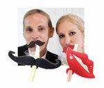 Mondial-fete - 20 pailles moustache