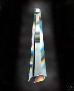76mm Asfour Icicle Crystal Prisms #505-76 (Crystal Asfour compare prices)