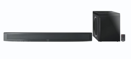 Panasonic Sc-Htb500 2.1-Channel Soundbar Speaker System With Wireless Kelton Subwoofer (Black)