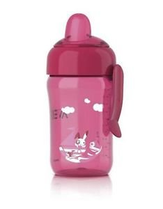 Philips Avent Magic Spout Cup 340Ml 18 Months Plus Scf754/00 Girls Bottle Pink Great Gift For Baby Free Shipping Ship Worldwide