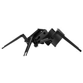 """New Lian-Li Case PC-T1B Test Bench 1/0/(1) Aluminum Mini-ITX Black Retail 5.25"""" Slim CD-Rom"""