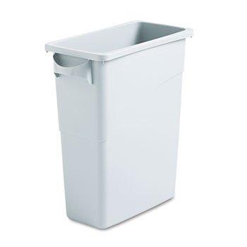 rubbermaid-abfallbehalter-slim-jim-60-liter-grau