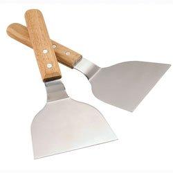 Set de 2 spatules plancha