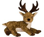 Ty Beanie Babies - Roxie (Black Nose) the Reindeer - 1