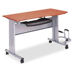 ** Eastwinds Mobile Work Table, 57w x 23½d x 29h, Medium Cherry
