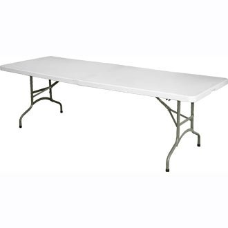 Garden / Buffet / Event Centre Folding - 8ft Table - tough and robust furniture, great for outdoors or events