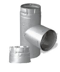 "Duravent 3Pvp-T 3"" Inner Diameter - Pelletvent Pro Type L Chimney Pipe - Double, Stainless Steel front-39195"