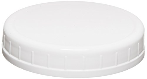 Ball Wide-Mouth Plastic Storage Caps, 8-Count (Plastic Lid Large compare prices)