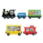 Glory Land Express 5 Car Train Set