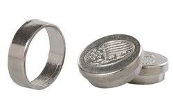 Magic Money Box Coin Penetration Through Hand Magic (Silver)