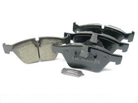BMW 128 (2008-10) Brake Pad Set Front CERAMIC Akebono