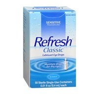 Refresh Refresh Classic Preservative-Free Eye Drops Single-Use Containers, 50 ct (Pack of 3) blink contacts lubricant eye drops 10 ml 3 pack