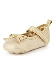 Bow Ballet Pram Shoes