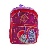 Mattel Ever After High 16 Inch Large Backpack School Bag- Raven Queen and Apple White - 1