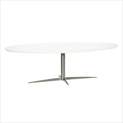 Havana High Gloss Lacquer Coffee Table in White