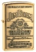Buy Zippo 254JB929 Jim Beam Label Emblem Lighter Great American Made Product by Zippo