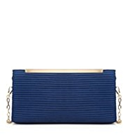 M&S Collection Gathered Clutch Bag