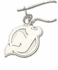 Logoart New Jersey Devils Sterling Silver Earrings