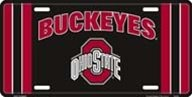 LP-1285 Ohio FuMvG State University Buckeyes zHH1Lo4Twd Embossed Novelty Vanity Metal License Plate Tag Sign - 2724 licence lisence license plate metal car sign yutio67 ghj90 6 x 12 standard automotive aluminum metal novelty license plate with 4 holes polished metal sign brushed stainless steel sign golden mirror finished metal letter