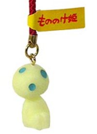 In the lucky charm key ring [Kodama] ★ dark ★ Princess Mononoke