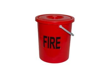 Caravan, Motorhome Plastic Fire Bucket with Lid.