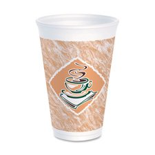 Dart Container Corp Foam Cups, 12 Oz., 1000/Ct front-255375