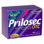 Prilosec OTC Acid Reducer, Delayed-Release Tablets, 42 Count