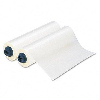 GBC Ultima 35 EZload Laminating Film Rolls, Glossy, 5 mm Thickness, 12 -Inches x 100 Feet, Clear, 2 Rolls per Pack (3000052EZ)